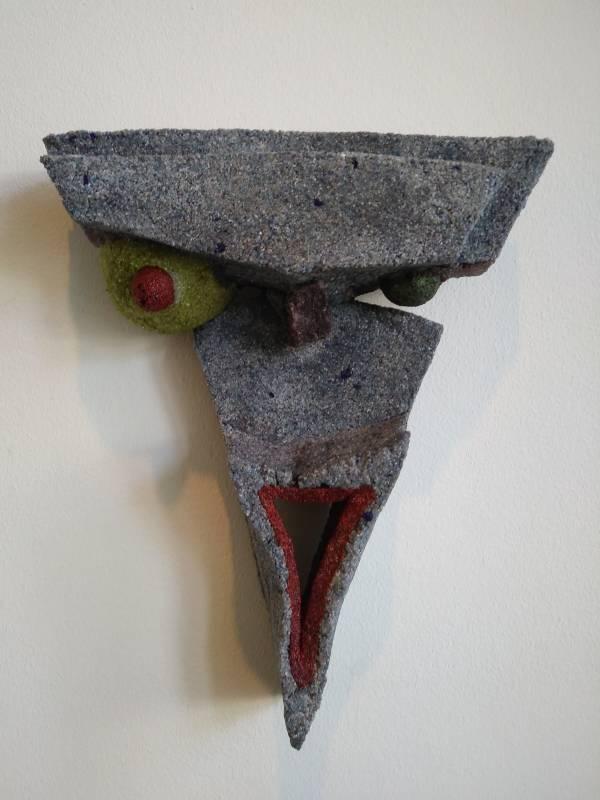 """Afbeelding van het kunstwerk """"Mascherea Malvagia 1"""""""